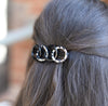 Animal Circles Barrette