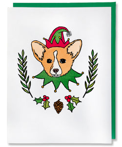 Holly Jolly Corgi