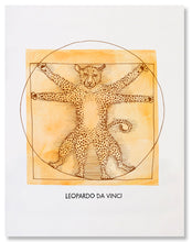 Load image into Gallery viewer, Leopardo da Vinci