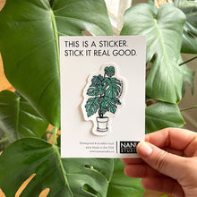Load image into Gallery viewer, Monstera Sticker