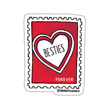 Load image into Gallery viewer, Besties Forever Sticker