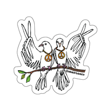 Load image into Gallery viewer, Peace Doves Sticker