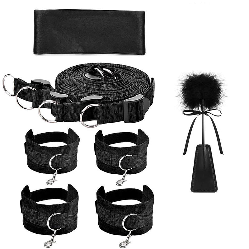 Fetish Bed Restraint Kit for Sex