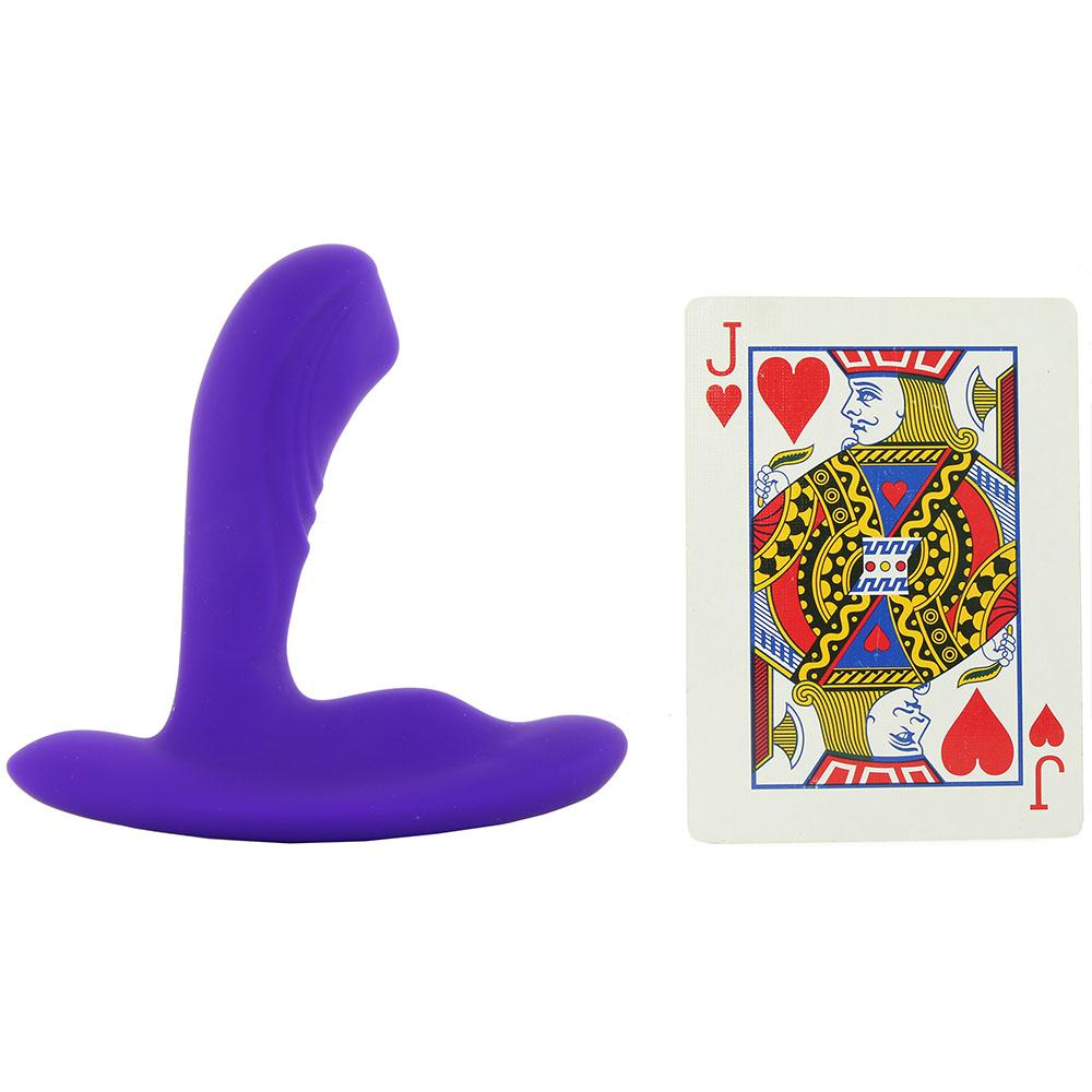 Silicone Remote PinPoint Pleaser P-Spot Vibe in Purple