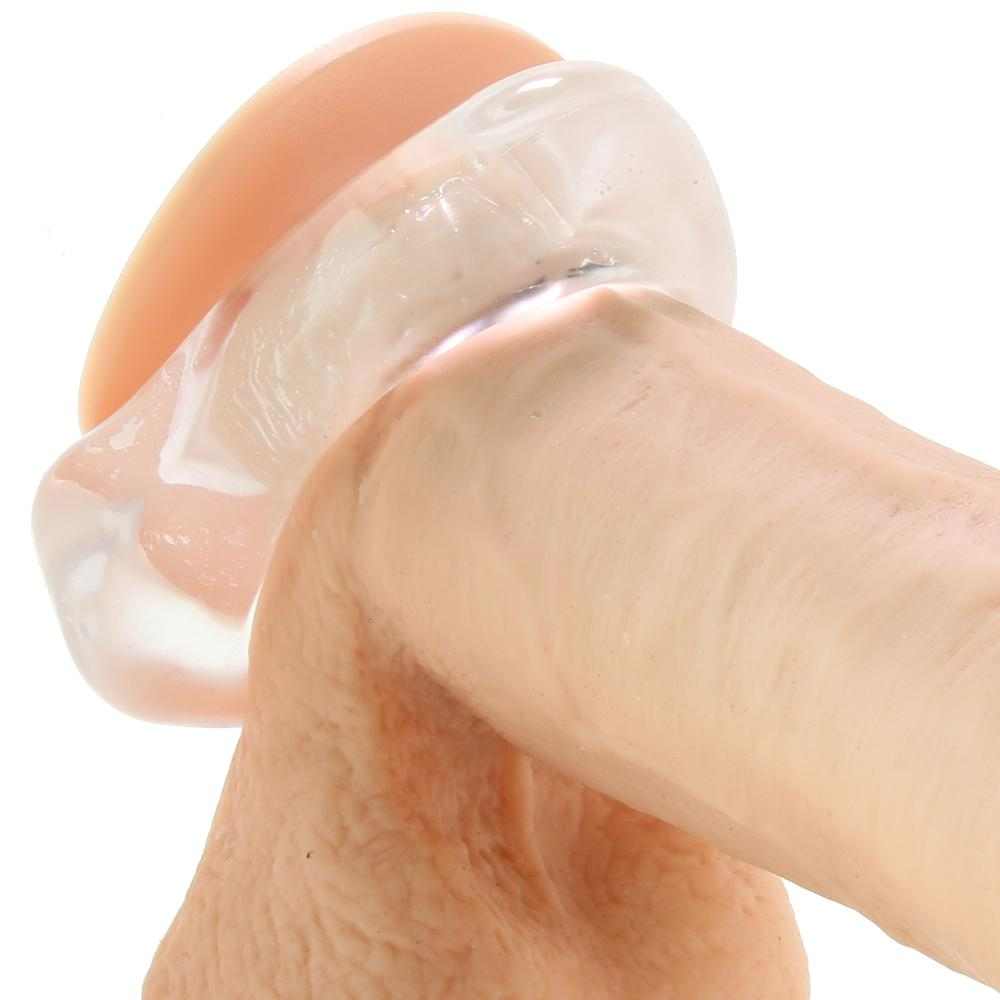 Renegade Junk Pusher Cock & Ball Support Ring in Clear