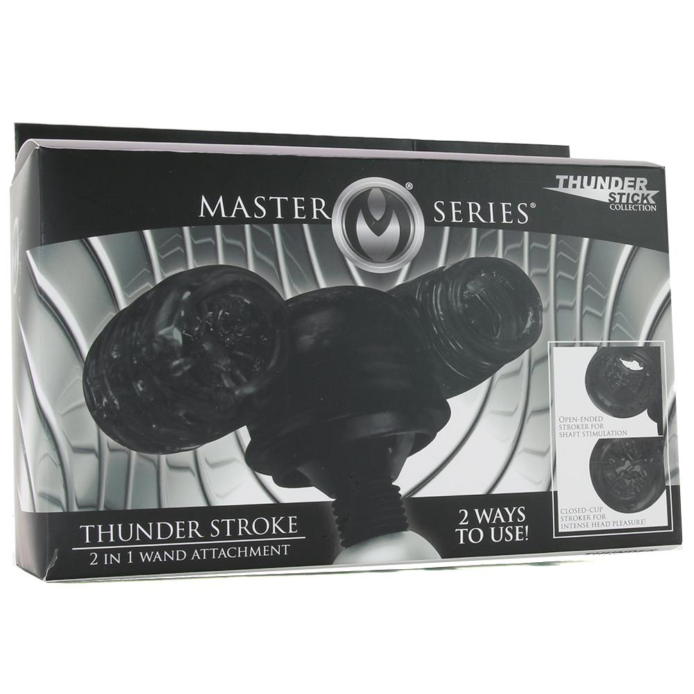 Master Series Thunder Stroke 2 in 1 Wand Attachment