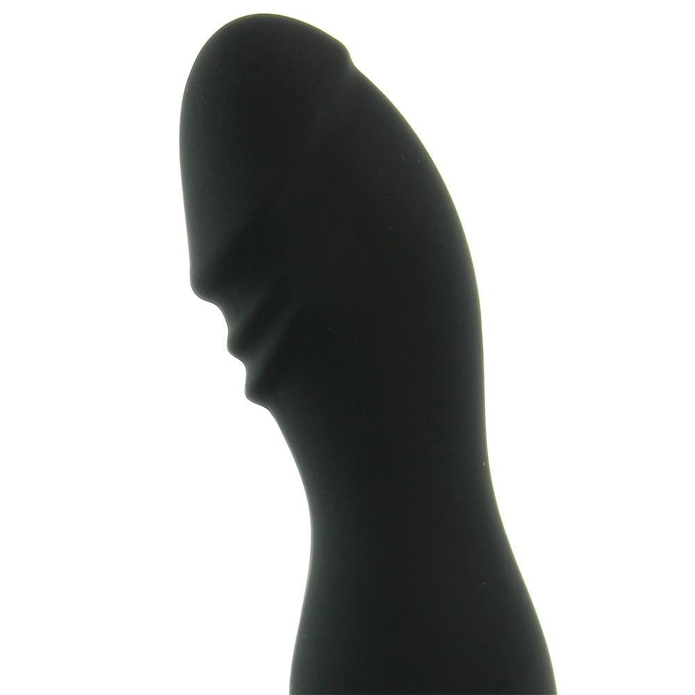 Silicone Anal Stud in Black