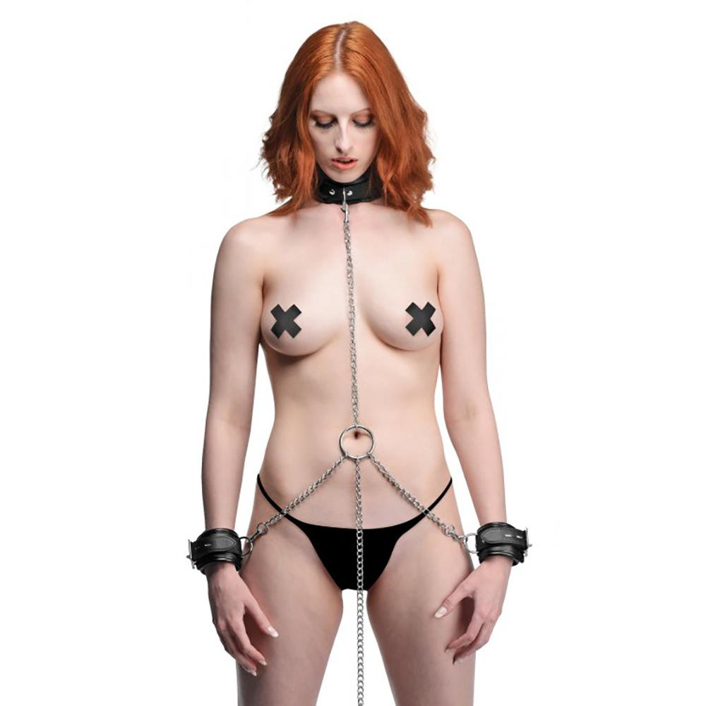 Strict Slave Bondage Shackle Set