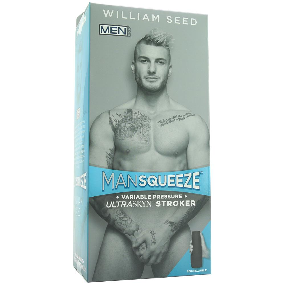 Man Squeeze William Seed ULTRASKYN Stroker