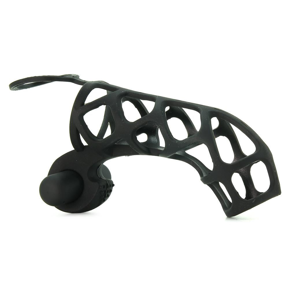Extreme Silicone Power Cage in Black