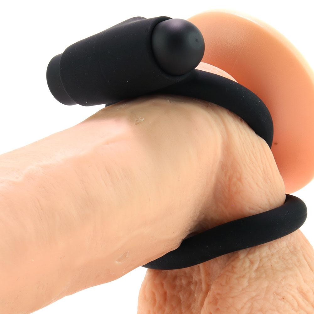 Control Vibrating Silicone Cock & Ball C-Ring