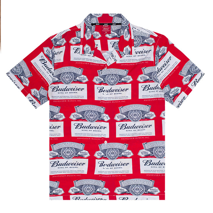 BUDWEISER LABEL SHIRT