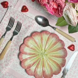 Petal Alpine Placemats - Set of 4 with Dinner Napkins
