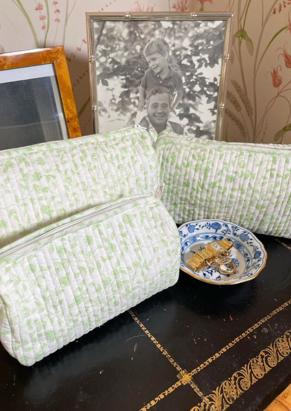Peridot Alpine Floral Toiletry Set of 3