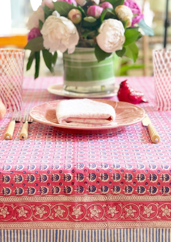 Raspberry Glace Tablecloth