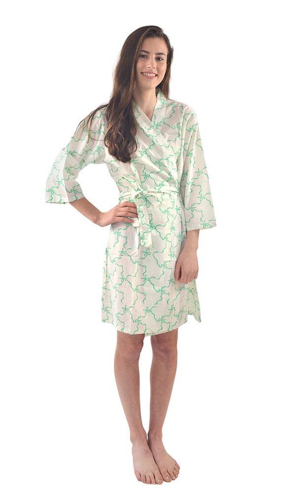 Jade Bows Mini Robe
