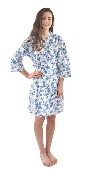 Blue Clover Robe