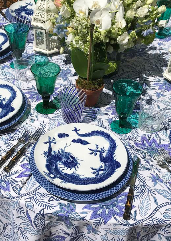 Aegean Chintz Tablecloth