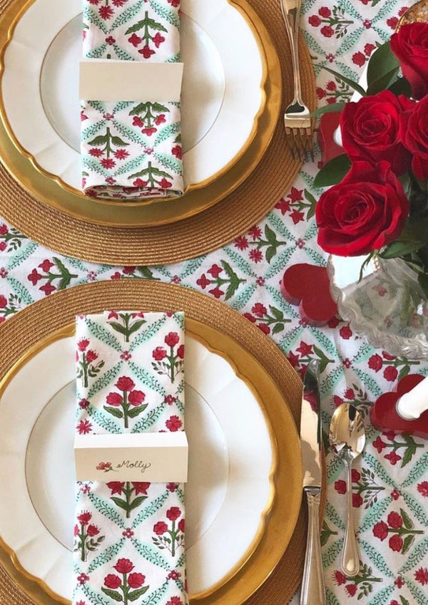 Holiday Trelliage Tablecloth