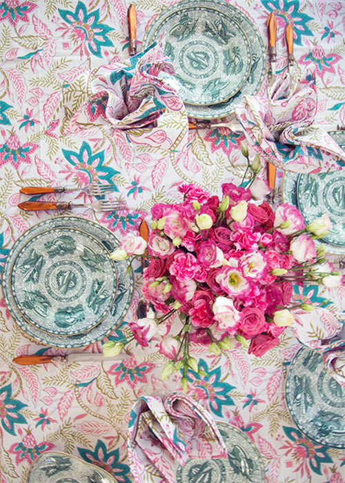 Lilly Chintz Tablecloth