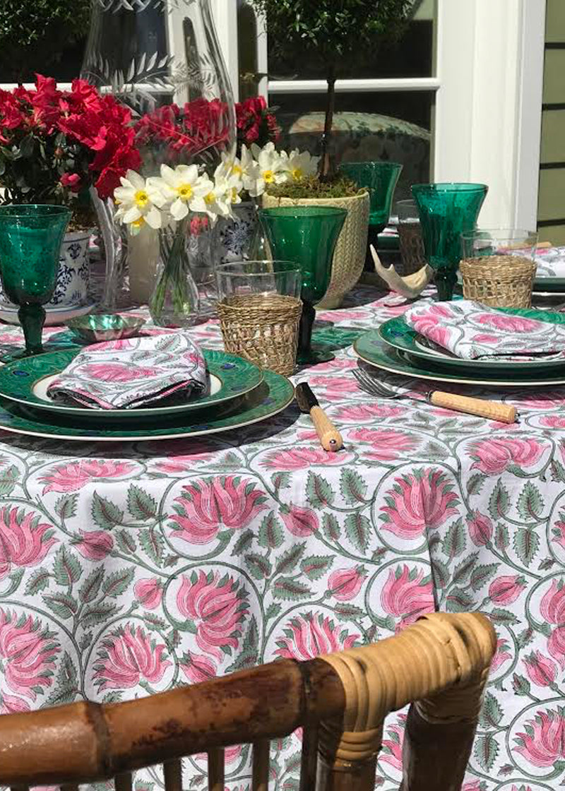 Strawberry Fields Tablecloth