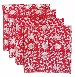 Hollyhock Dinner Napkins