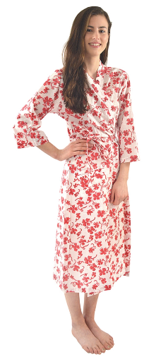 Raspberry Clover Robe