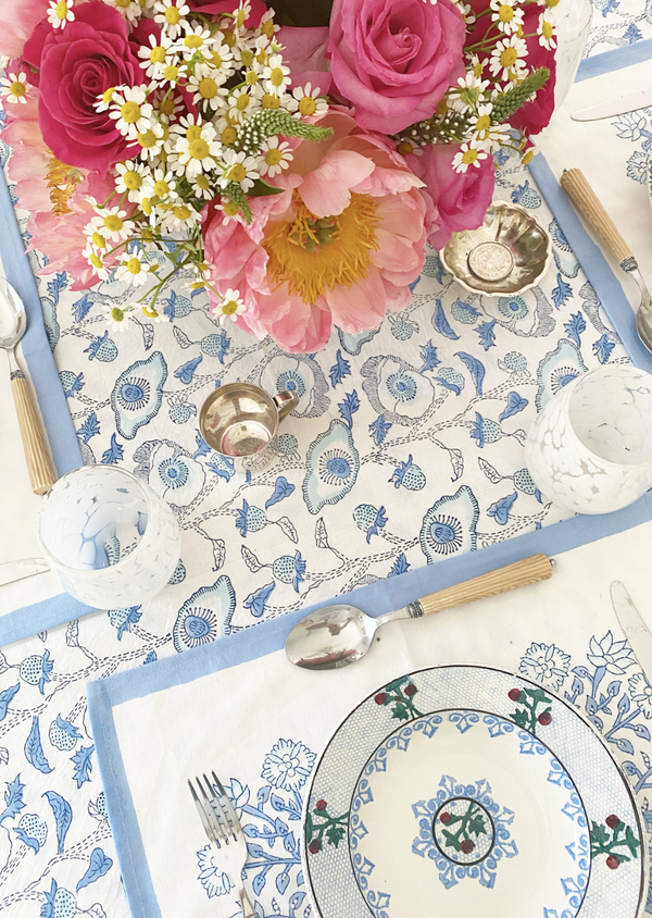 Lapis Buttercup Tablecloth