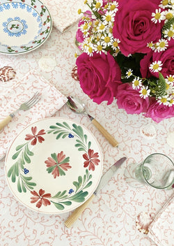 Spring Pink Tablecloth