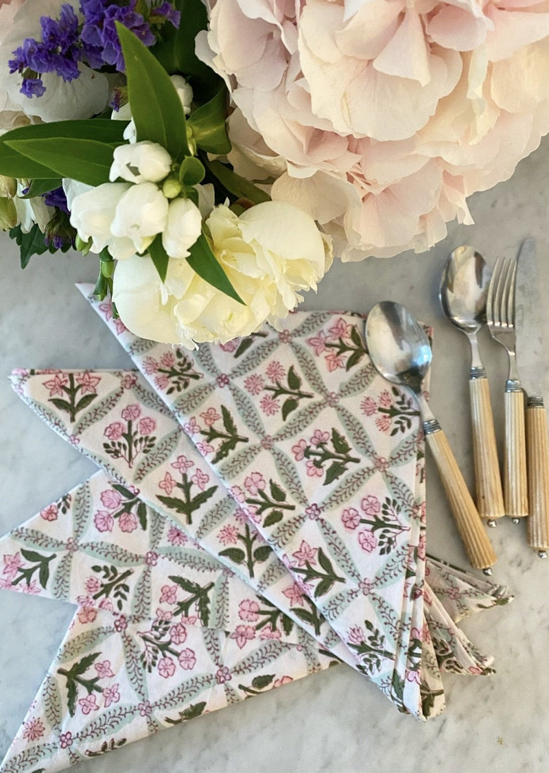 Petal Trelliage Dinner Napkins