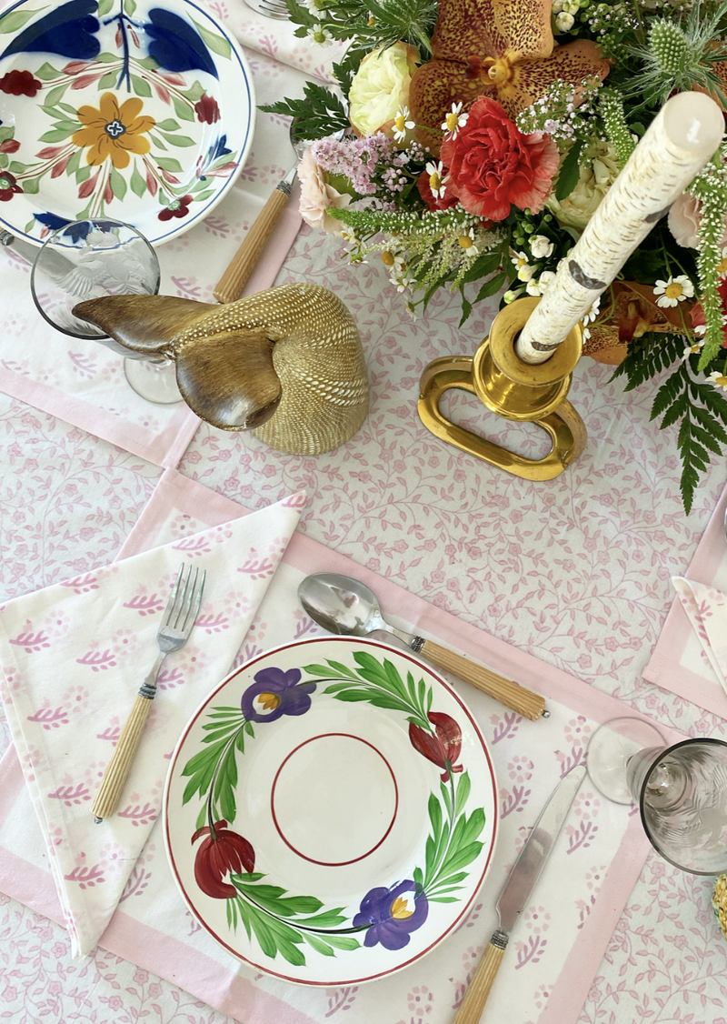 Petal Alpine Floral Tablecloth