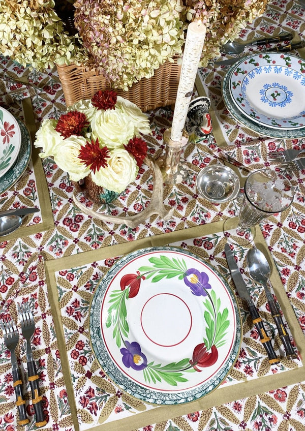 Autumn Trelliage Tablecloth