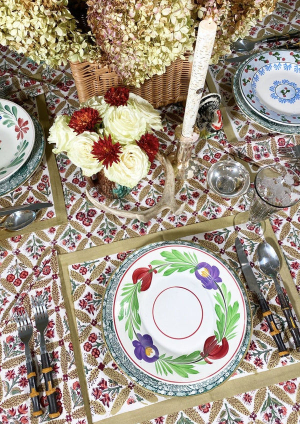 Autumn Trelliage Dinner Napkins