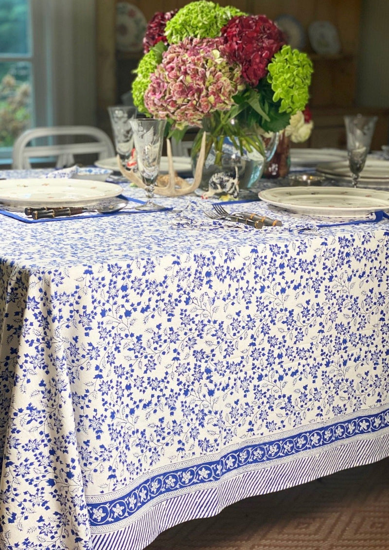 Alpine Blue Tablecloth