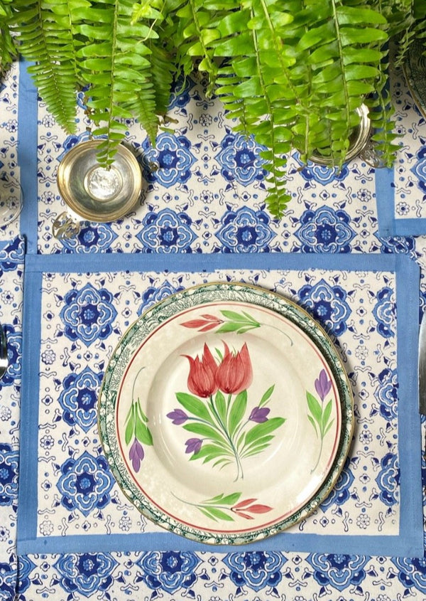 China Blue Tablecloth