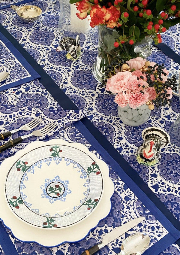 Majorelle Blue Tablecloth