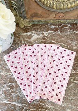 Peppermint Candy Cane Dinner Napkins