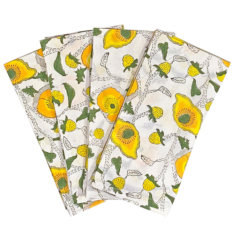 Buttercup Dinner Napkins