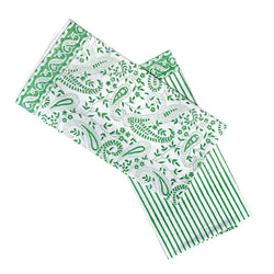 Peridot Paisley Tea Towels - Set of Two