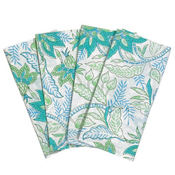 Mint Chintz Dinner Napkins