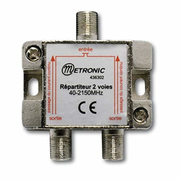 ACCOPPIATORE DISACCOPPIATORE METRONIC SATELLITARE/TV