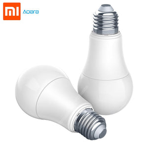 Xiaomi Aqara 9W E27 2700K-6500K 806lum Smart White Color LED Bulb Light Work with Home Kit and MI Home App Smart Lamp