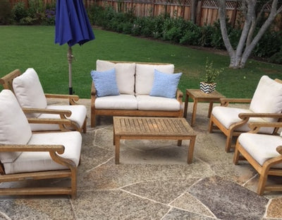 Take care of your teak outdoor furniture in rainy/winter season?