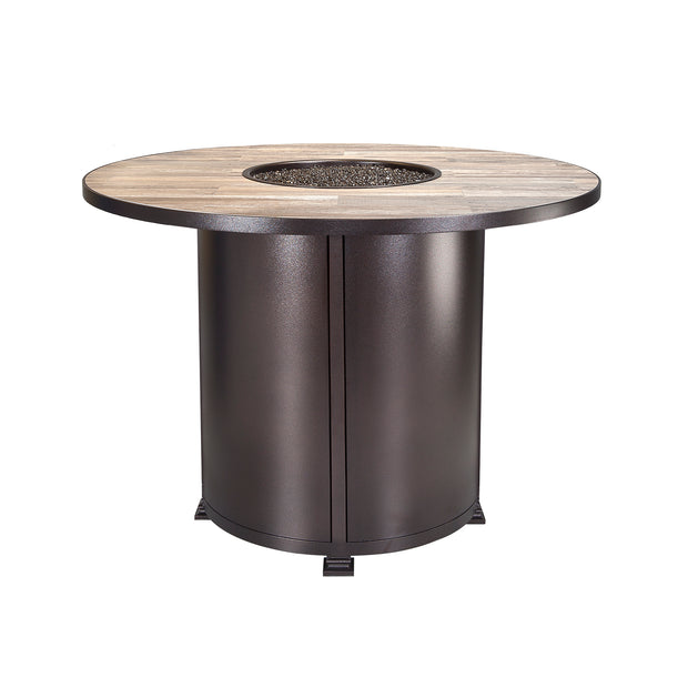 "Santorini Fire Pit 54"" Round Counter Height - Toms Outdoor Furniture"