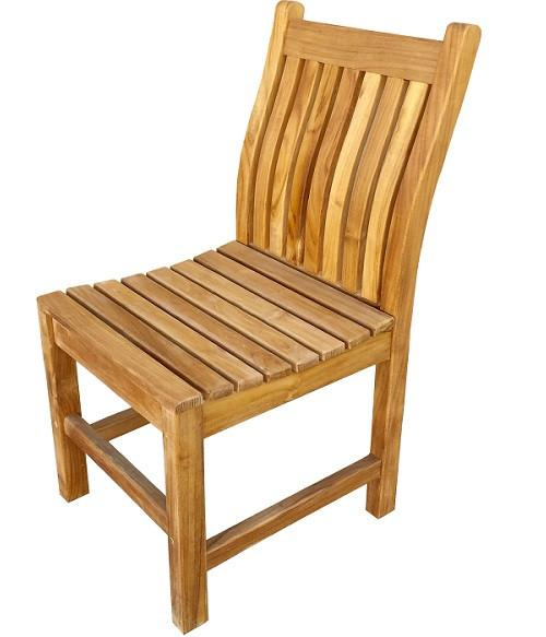 Brilliant Classic Teak Side Chair Complete Home Design Collection Barbaintelli Responsecom