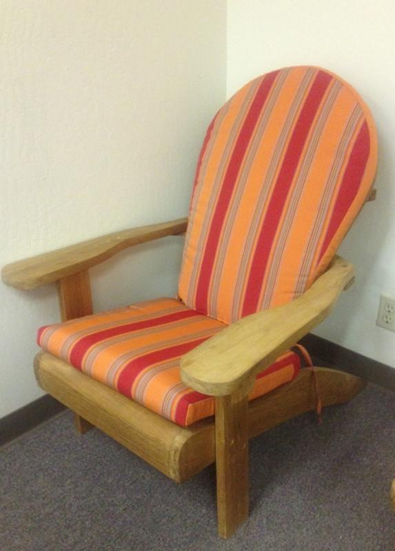 Adirondack Chair Cushion - Toms Outdoor Furniture