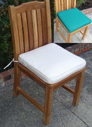 Side Chair Cushion - Toms Outdoor Furniture