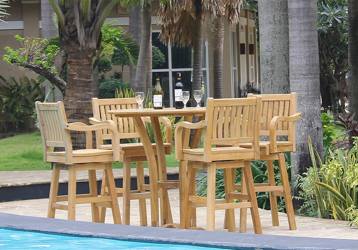 Deluxe Bar Table Set - Toms Outdoor Furniture