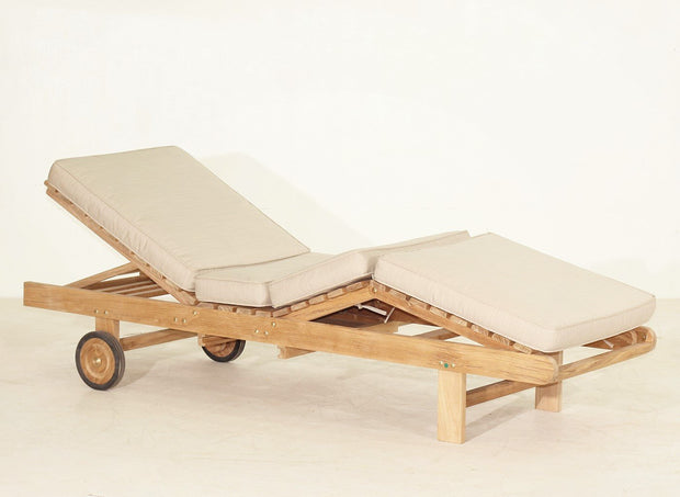 Hampton Chaise Lounger - Toms Outdoor Furniture