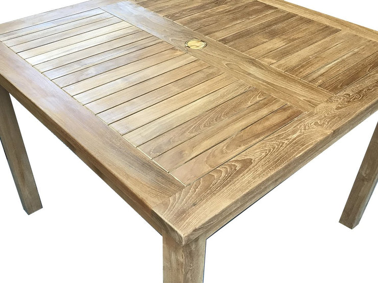 "Teak Dining Table 40"" - Toms Outdoor Furniture"